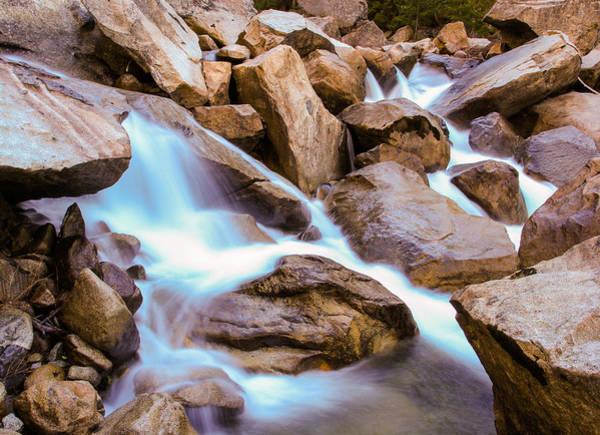 Photograph - Merced Cascades by Adam Pender