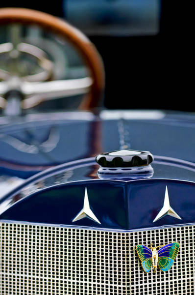 Photograph - Mercedes-benz Grille by Jill Reger
