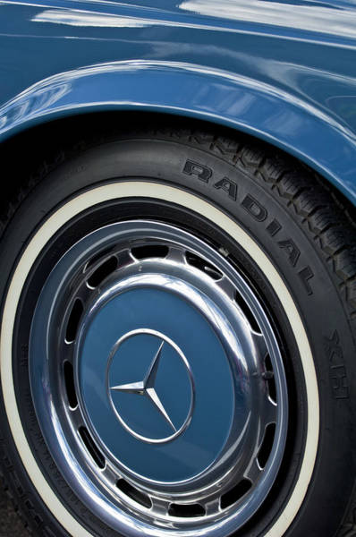 Photograph - Mercedes-benz Wheel Rim by Jill Reger