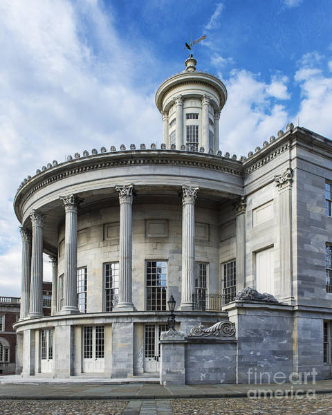 Greek Revival Architecture Photograph - Merchant Exchange Building by John Greim