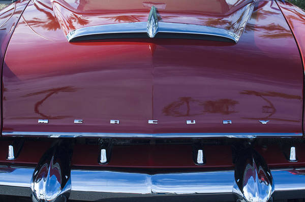 Photograph - Mercury Grille by Jill Reger