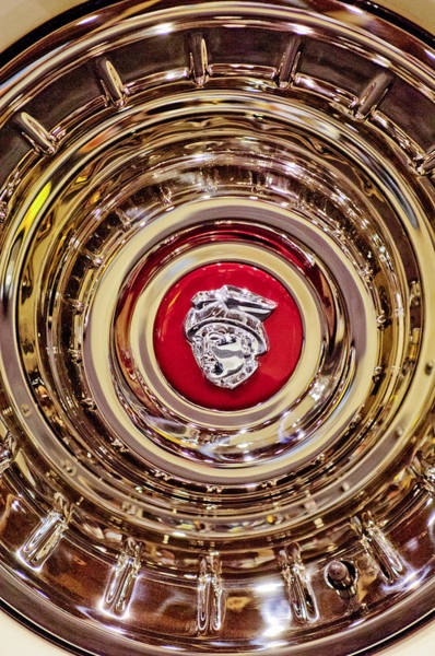 Photograph - Mercury Wheel Rim by Jill Reger
