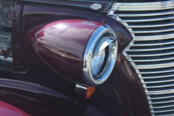 Photograph - Merlot Classic Car by Donna L Munro