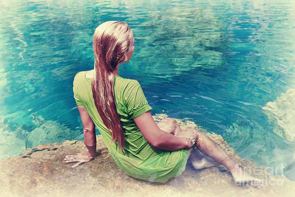 Fairy Pools Photograph - Mermaid by MotHaiBaPhoto Prints