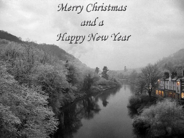 Photograph - Merry Christmas Happy New Year by Sarah Broadmeadow-Thomas