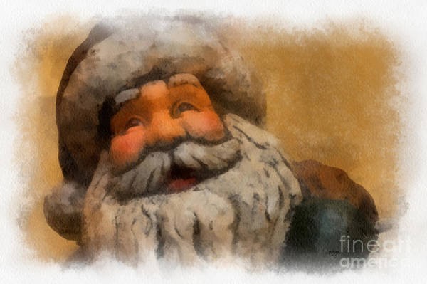 Photograph - Merry Christmas Santa by Lois Bryan