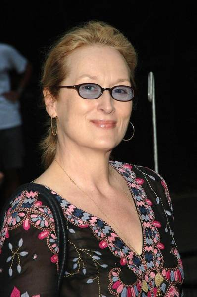 The Belvedere Photograph - Meryl Streep At Arrivals For The 2006 by Everett