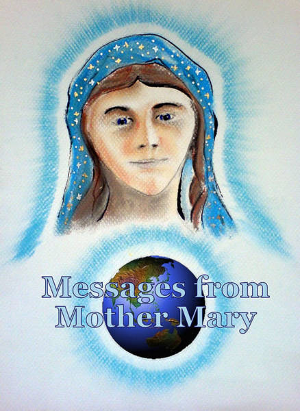 Painting - Messages From Mother Mary by Ahonu