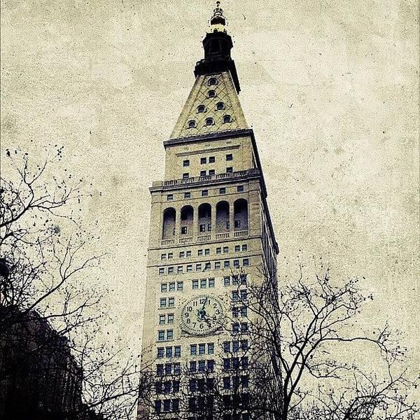 Landmarks Wall Art - Photograph - Met Life Tower by Natasha Marco