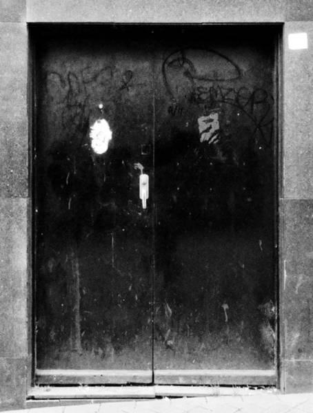 Photograph - Metal Door by Roberto Alamino