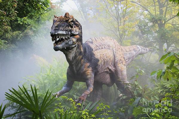 Photograph - Metriacanthosaurus by David Davis and Photo Researchers