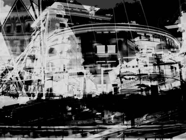 Metropolis Nacht Art Print