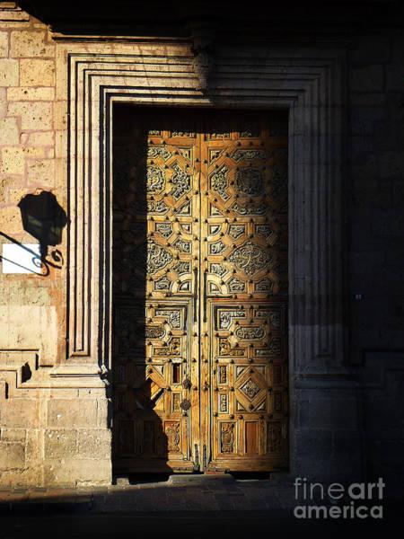 Photograph - Mexican Door 21 by Xueling Zou