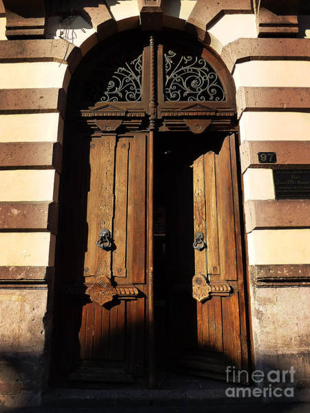 Photograph - Mexican Door 22 by Xueling Zou