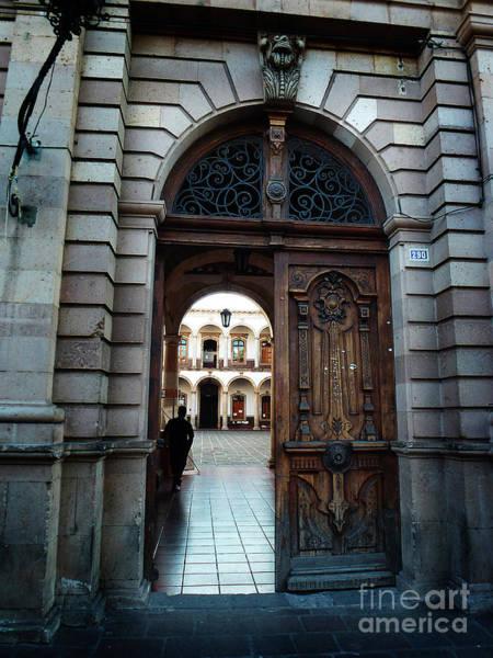Photograph - Mexican Door 25 by Xueling Zou
