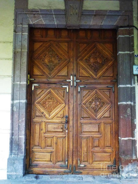 Photograph - Mexican Door 29 by Xueling Zou