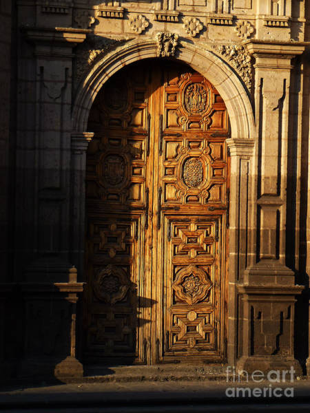 Photograph - Mexican Door 31 by Xueling Zou