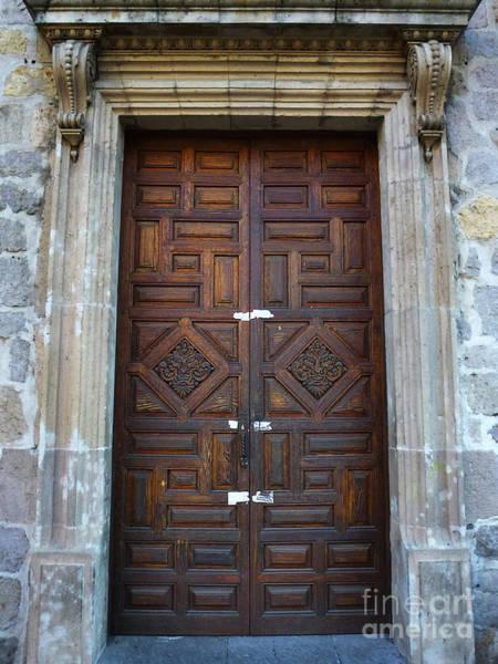 Photograph - Mexican Door 32 by Xueling Zou