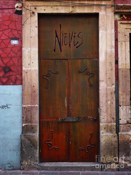Photograph - Mexican Door 36 by Xueling Zou