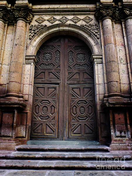 Photograph - Mexican Door 38 by Xueling Zou