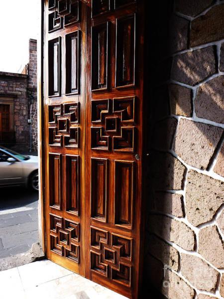 Photograph - Mexican Door 42 by Xueling Zou