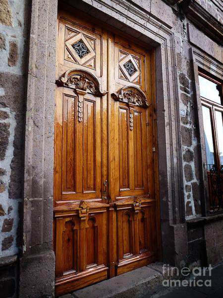 Photograph - Mexican Door 44 by Xueling Zou