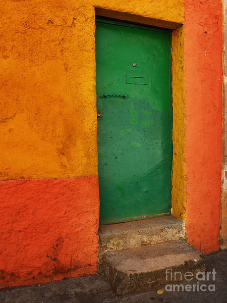 Photograph - Mexican Door 46 by Xueling Zou