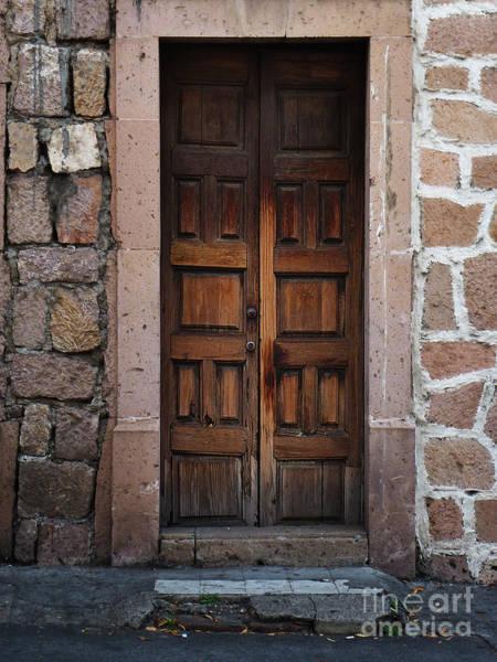 Photograph - Mexican Door 50 by Xueling Zou
