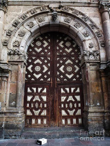 Photograph - Mexican Door 53 by Xueling Zou