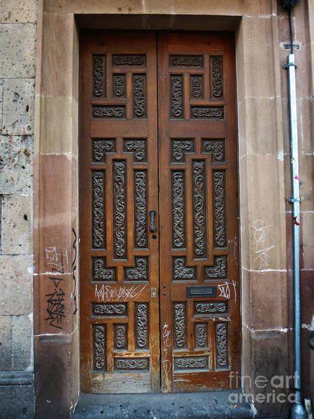Photograph - Mexican Door 54 by Xueling Zou