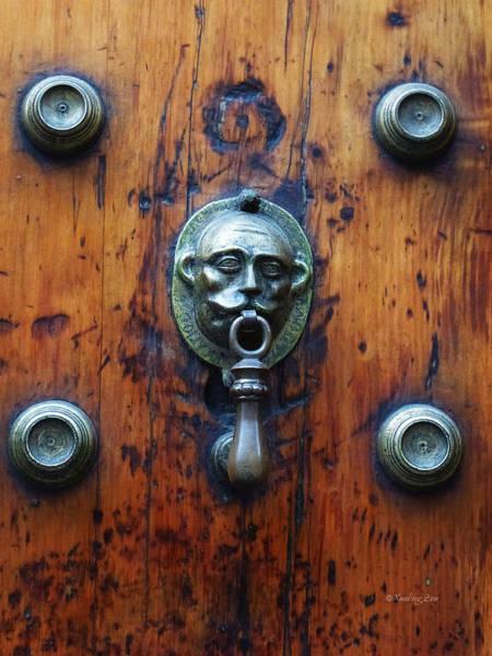 Photograph - Mexican Door Decor 13  by Xueling Zou