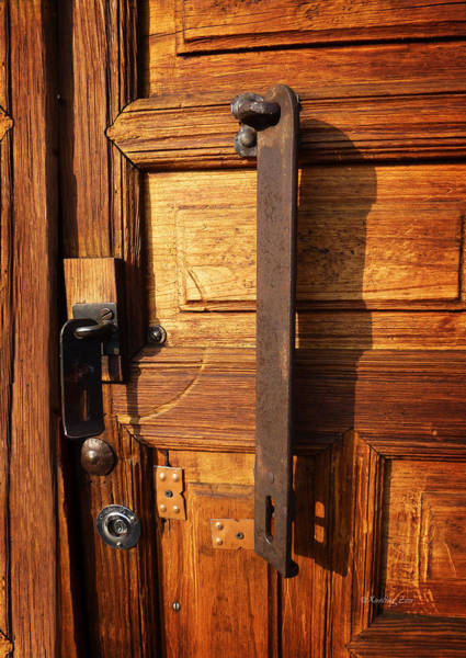 Photograph - Mexican Door Decor 4  by Xueling Zou