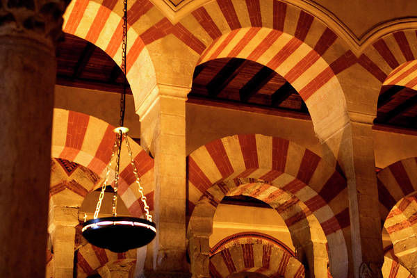 Photograph - Mezquita Arches by Lorraine Devon Wilke