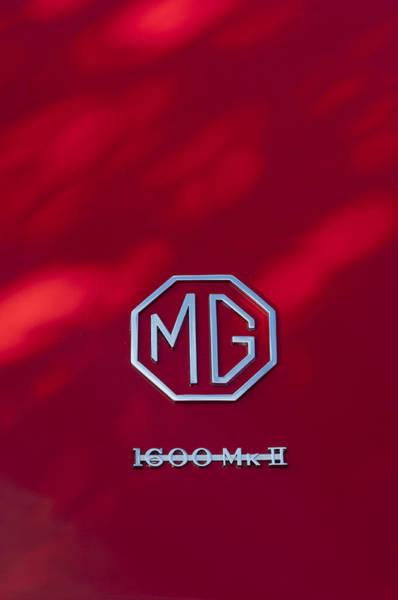 Photograph - Mg 1600 Mk II Emblem by Jill Reger