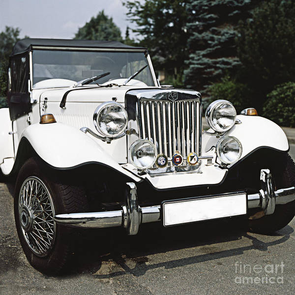 Photograph - Mg Classic Car by Heiko Koehrer-Wagner