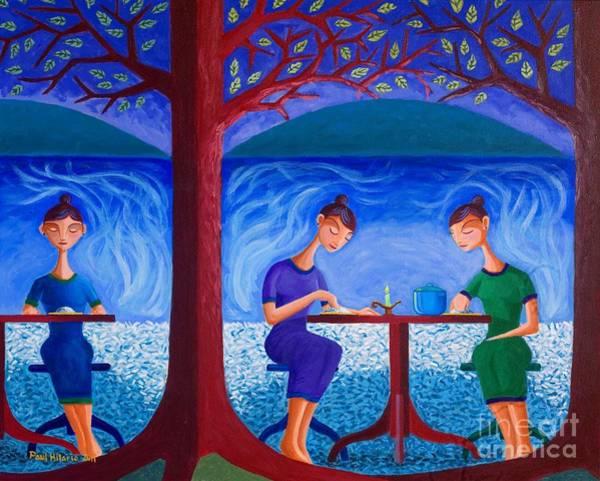 Rice Wall Art - Painting - Mga Kaluluwa At Kaldero by Paul Hilario