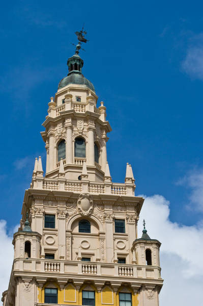 Photograph - Miami Freedom Tower Cupola by Ed Gleichman