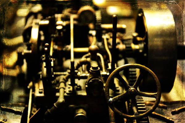 Photograph - Micro Gears by Matt Hanson