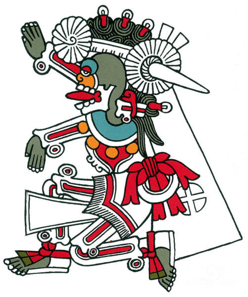 Photograph - Mictlantecuhtli, Aztec God Of Death by Photo Researchers