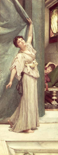 Wall Art - Painting - Midday Slumbers  by Sir Lawrence Alma-Tadema