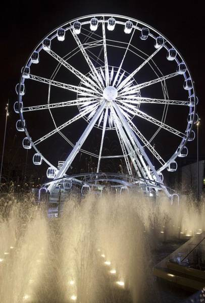 Fair Ground Photograph - Middlesbrough, North Yorkshire, England by John Short
