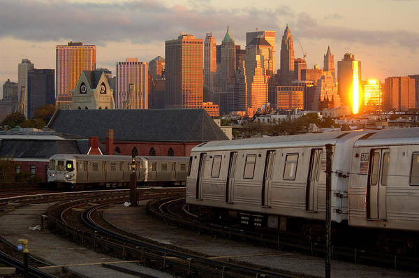 Station To Station Photograph - Midtown by Christian Heeb