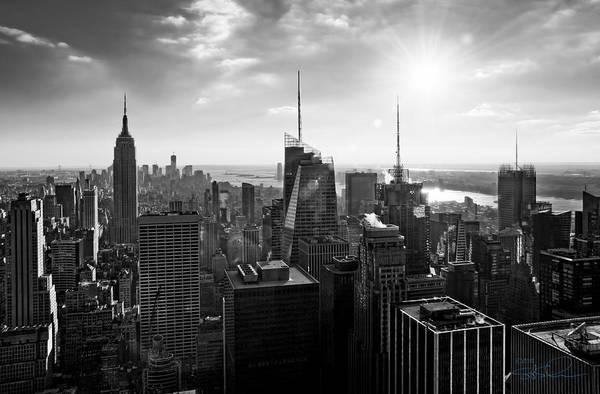 Photograph - Midtown Skyline Infrared by S Paul Sahm