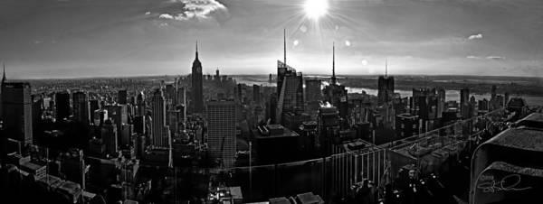 Photograph - Midtown South Bw by S Paul Sahm