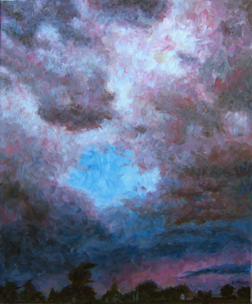 Midwest Tempest Art Print by Susan Moore