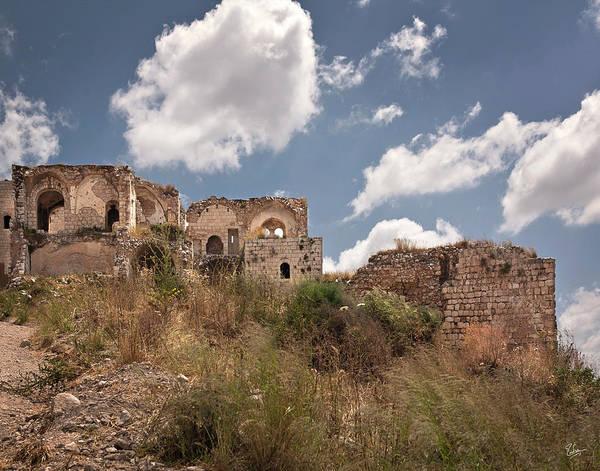 Photograph - Migdal Tzedek Ruins 2 by Endre Balogh
