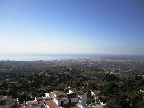 Photograph - Mijas Ocean View Of Costa Del Sol Beach Spain by John Shiron