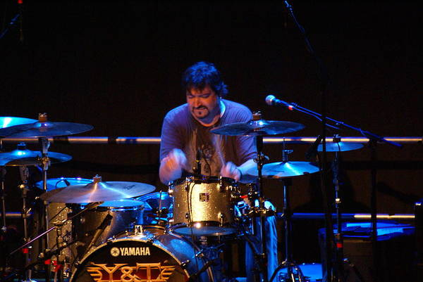 Photograph - Mike Vanderhule On The Drums by Ben Upham