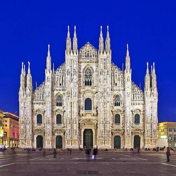Trip Photograph - Milan Cathedral (italian: Duomo Di by Tommy Tjahjono