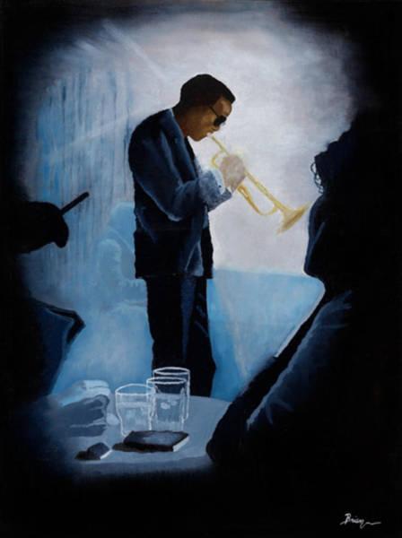 Miles Davis Painting - Mile Davis - Kind Of Blue by Brien Cole
